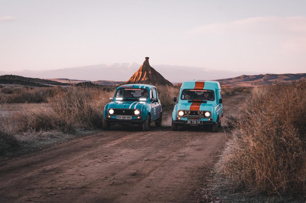 Blue Rally Bardenas
