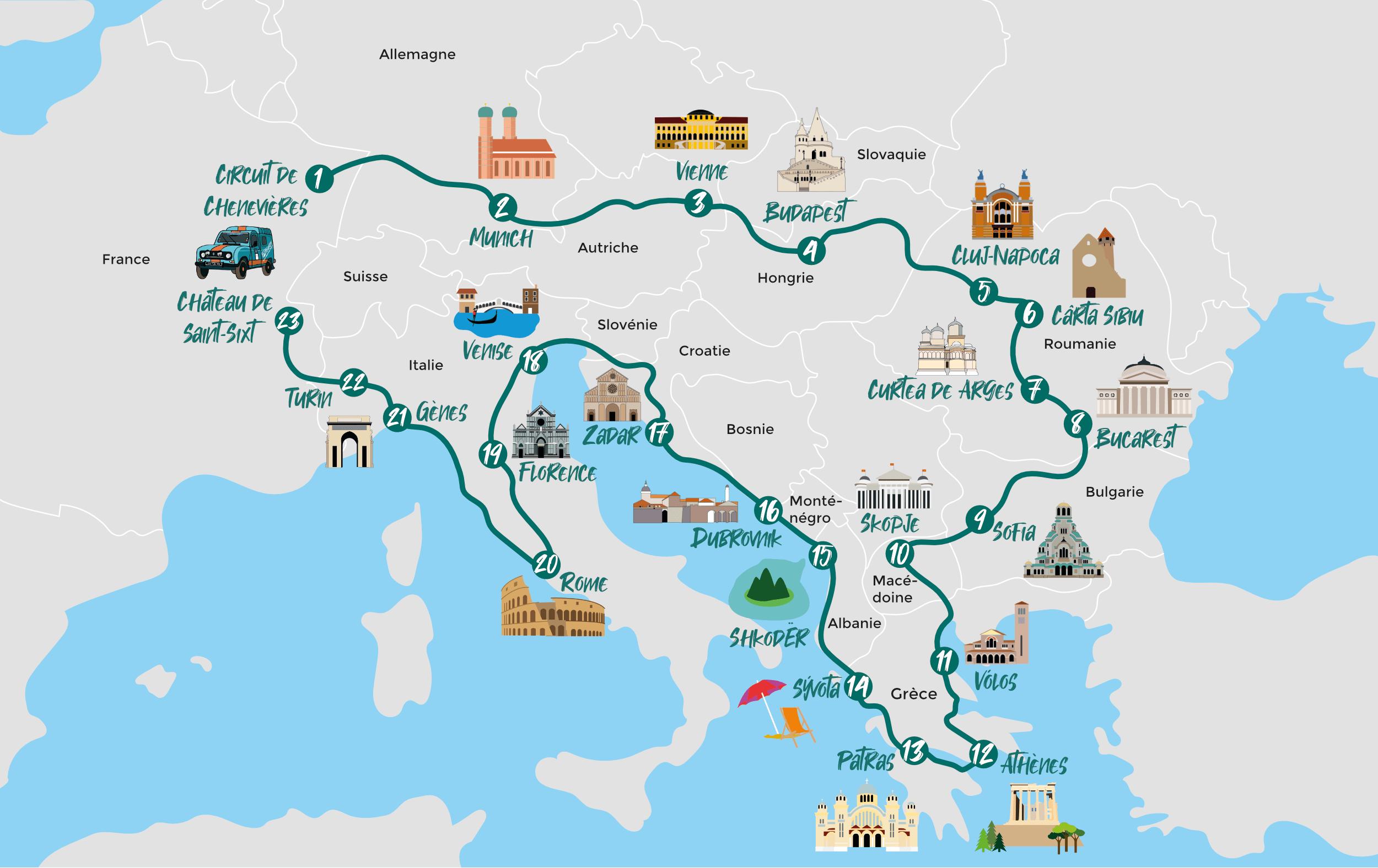 Carte Blue Rally Europe
